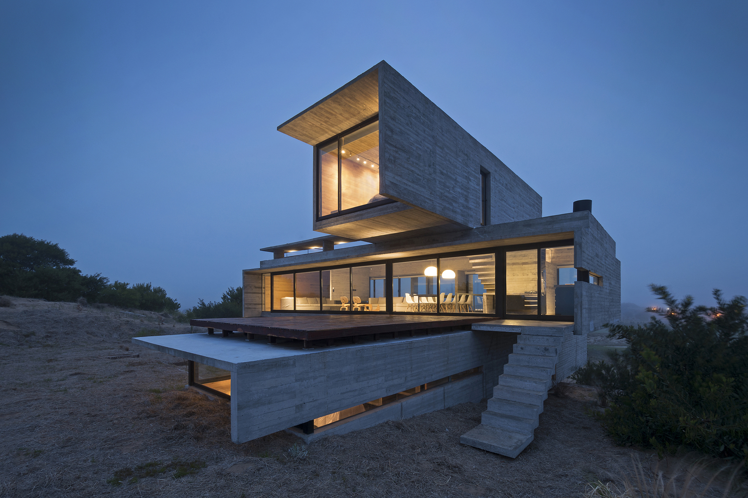 The Golf House by Luciano Kruk Arquitectos in Argentina