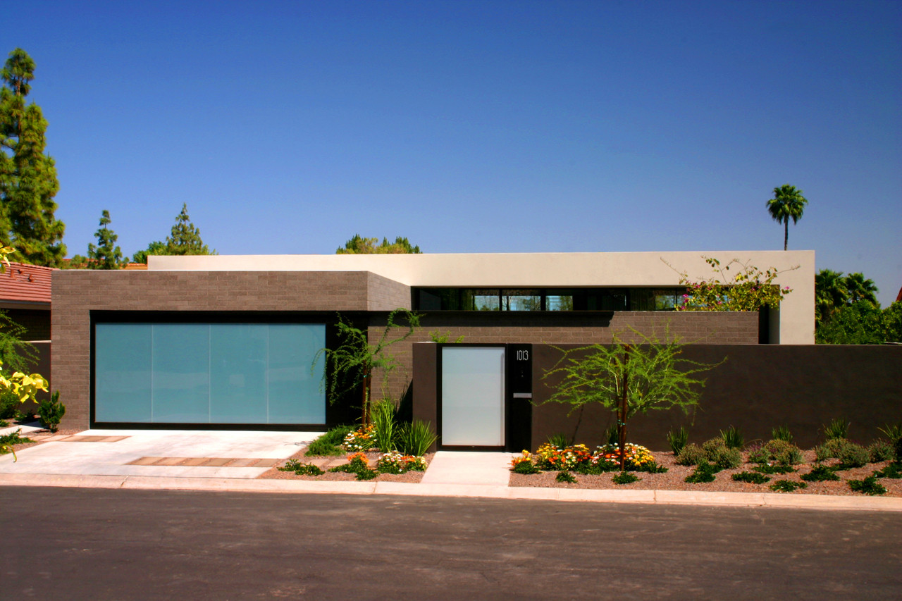 The lake residence by architekton in arizona for Arizona house plans