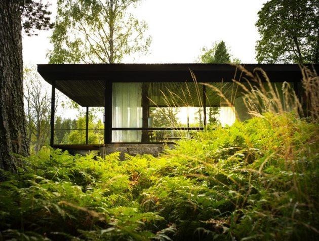 The Lundnäs House by Delin Arkitektkontor in Hälsingland, Sweden