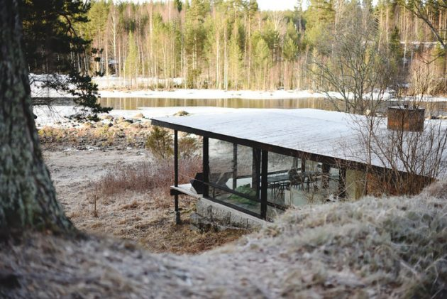 The Lundnäs House by Delin Arkitektkontor in Hälsingland, Sweden