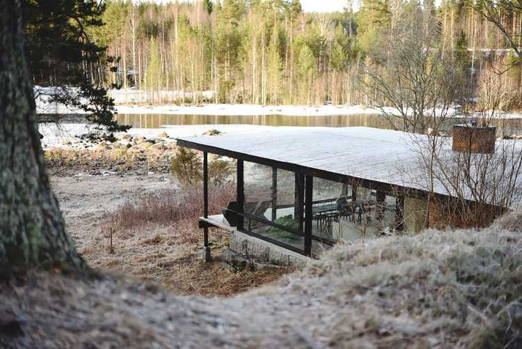 The Lundnäs House by Delin Arkitektkontor in Hälsingland ...