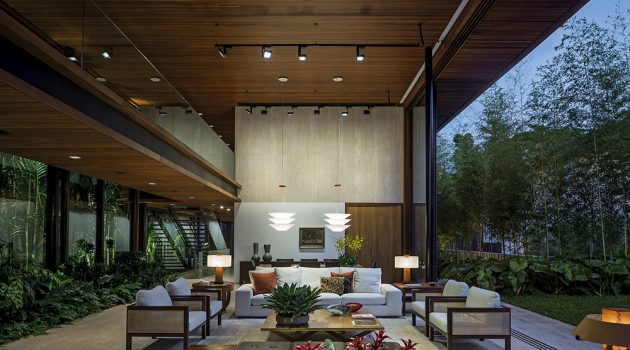 The MLA House by Jacobsen Arquitetura in Sao Paulo, Brazil