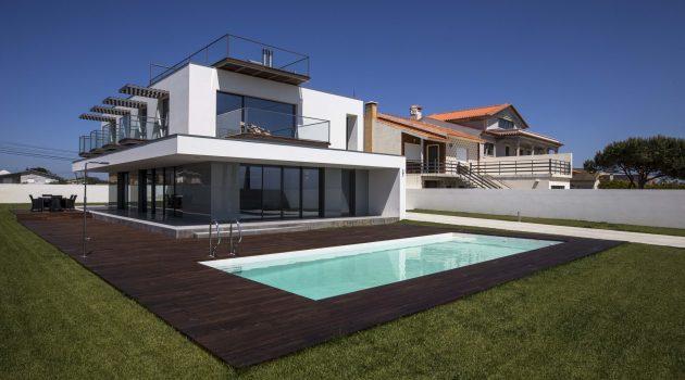 VA House by Atelier d'Arquitectura J. A. Lopes da Costa in Portugal