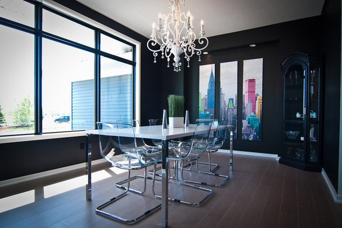 50 Strikingly Modern Dining Rooms That Inspire You To: 16 Amazing Dining Room Designs With Fascinating Wall Decor