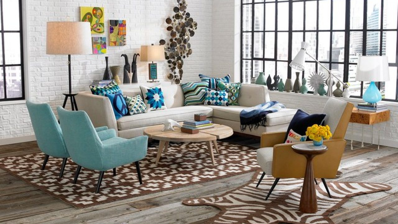 5 Magnificent Ideas For Decorating Retro Living Room
