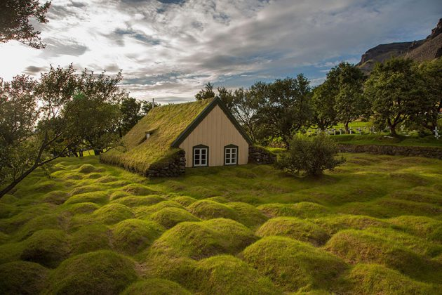 12 Outstanding Scandinavian Homes With Green Roofs That Look As Fabulous