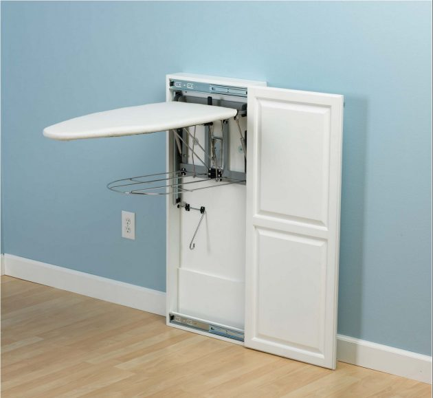 """12 Most Creative Ideas Where To """"Hide"""" Your Ironing Board"""