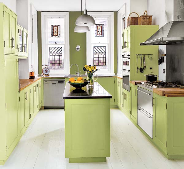 17 adorable kitchen designs with tones of vibrant colors for See kitchen designs