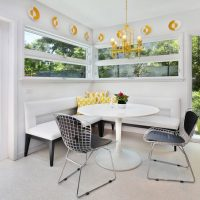 Functional Banquette- Necessary Addition To The Modern Dining Room