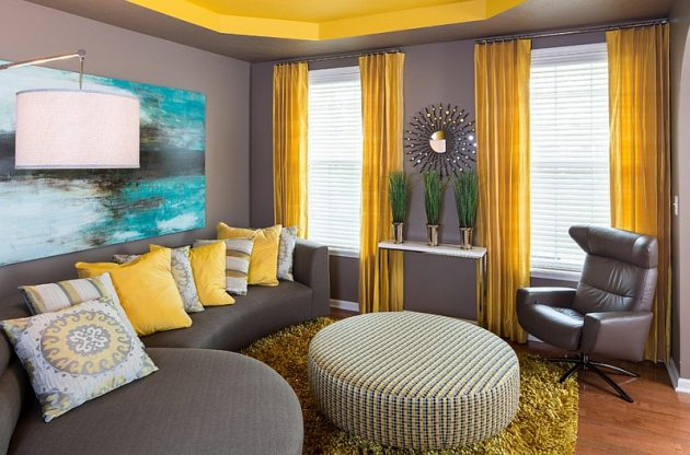 Collection of The Living Room Yellow Accents that you must See @house2homegoods.net