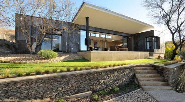 10 Ossmann Street Residence by Wasserfall Munting Architects in Windhoek, Namibia