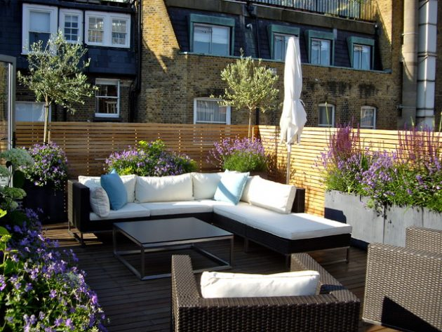 16 Fascinating Examples For Decorating Modern Balcony