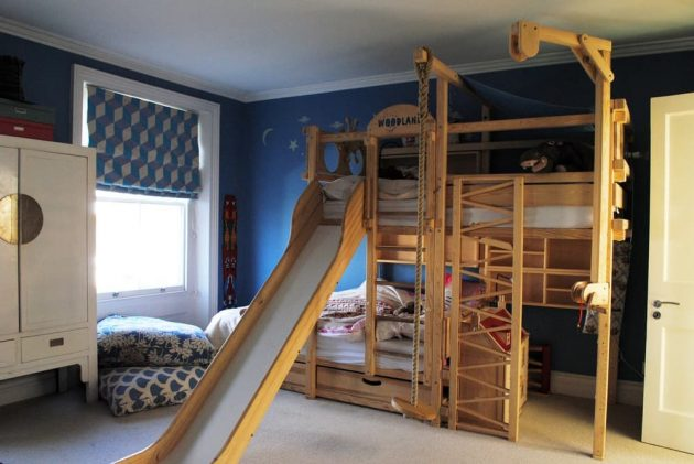 19 Captivating Ideas For Bunk Bed With Slide That Everyone