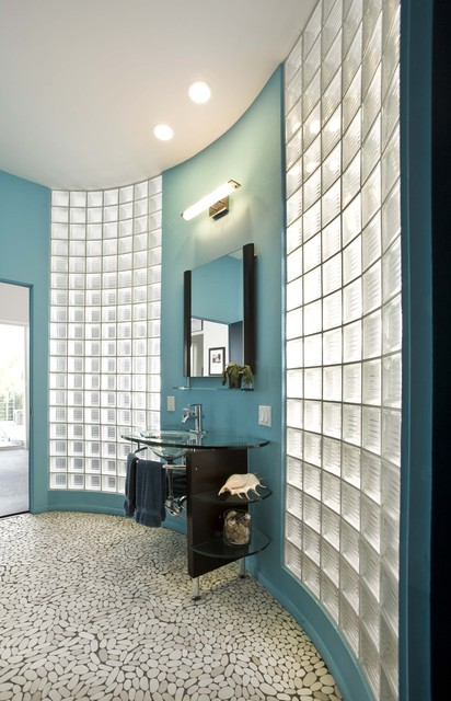 21 Charming Ideas Of Glass Block Windows To Enhance Your Home Decor