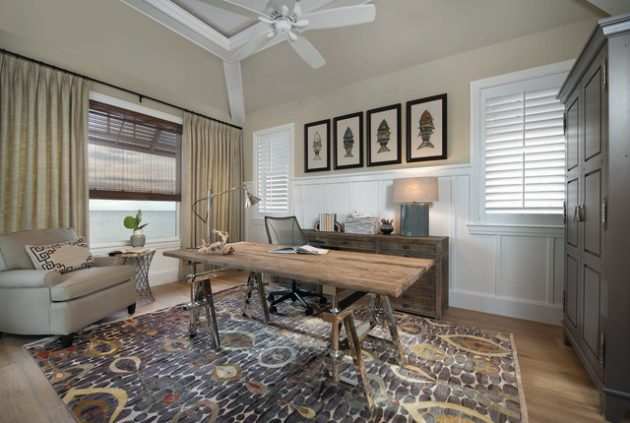 16 Charming Vintage Home Office Designs That Will Provide Pleasant Work
