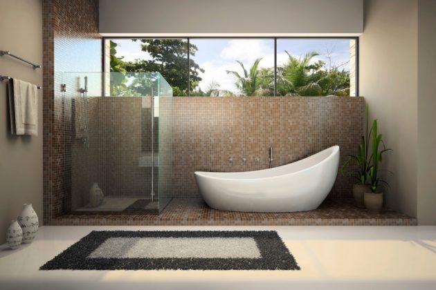19 Beautiful Options For Choosing Bathroom Rug