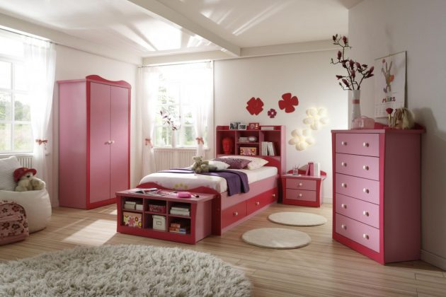 18 Cute Girls Bedroom Designs Like From The Fairy Tales