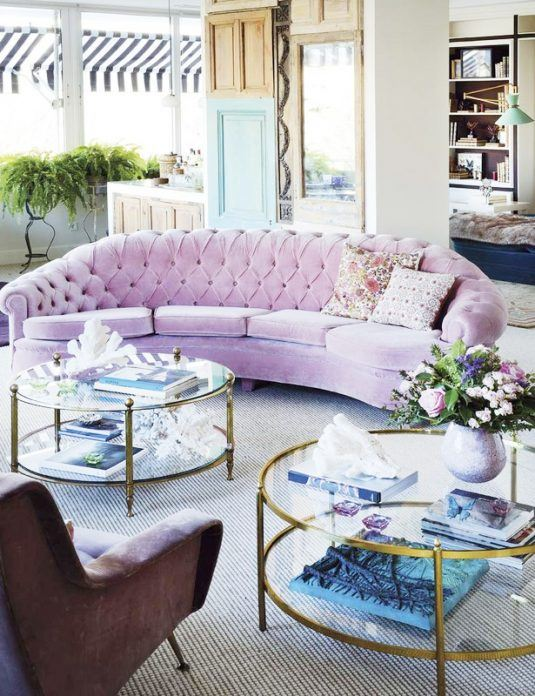17 Extravagant Ideas Of Round Furniture For Every Home Style