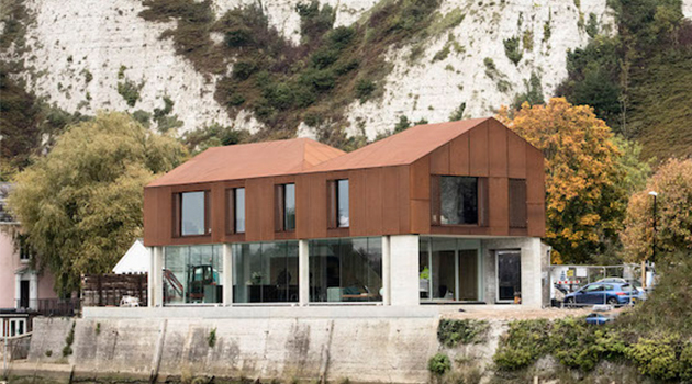 142 South Street by Sandy Rendel Architects in Lewes, UK