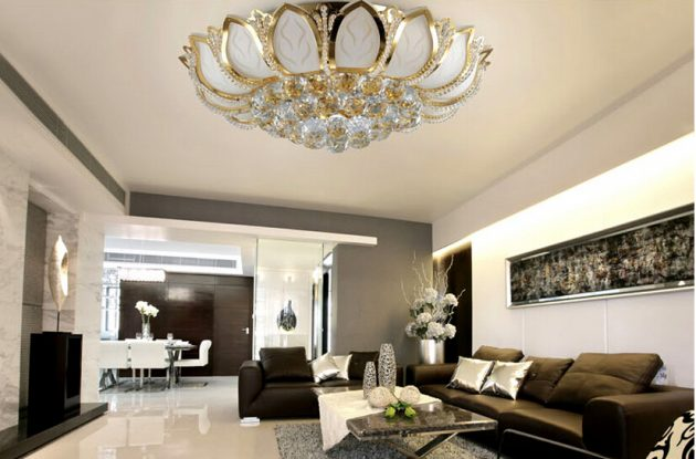 19 Sophisticated Chandelier Designs To Beautify Your Living Room
