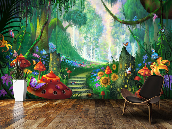 15 Dazzling Wall Mural Designs That Will Beautify Your Home