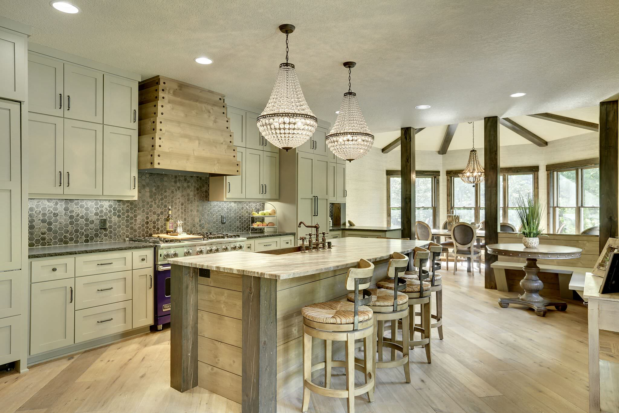 15 inspirational rustic kitchen designs you will adore How do you design a kitchen