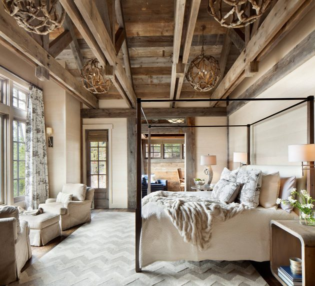 Log Cabin Interior Design: 15 Wicked Rustic Bedroom Designs That Will Make You Want Them