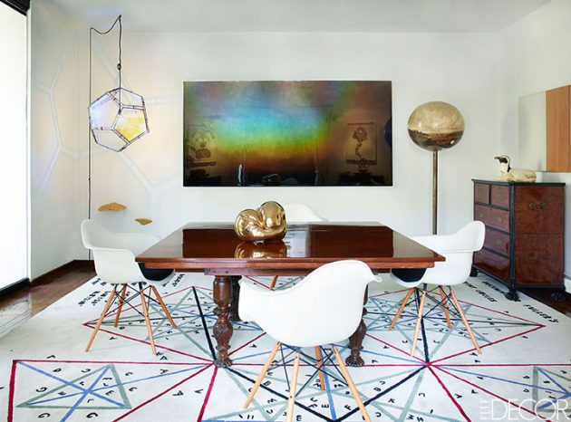 16 Amazing Dining Room Designs With Fascinating Wall Decor