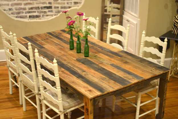 16 awesome diy dining table ideas Dining Room Seating Ideas