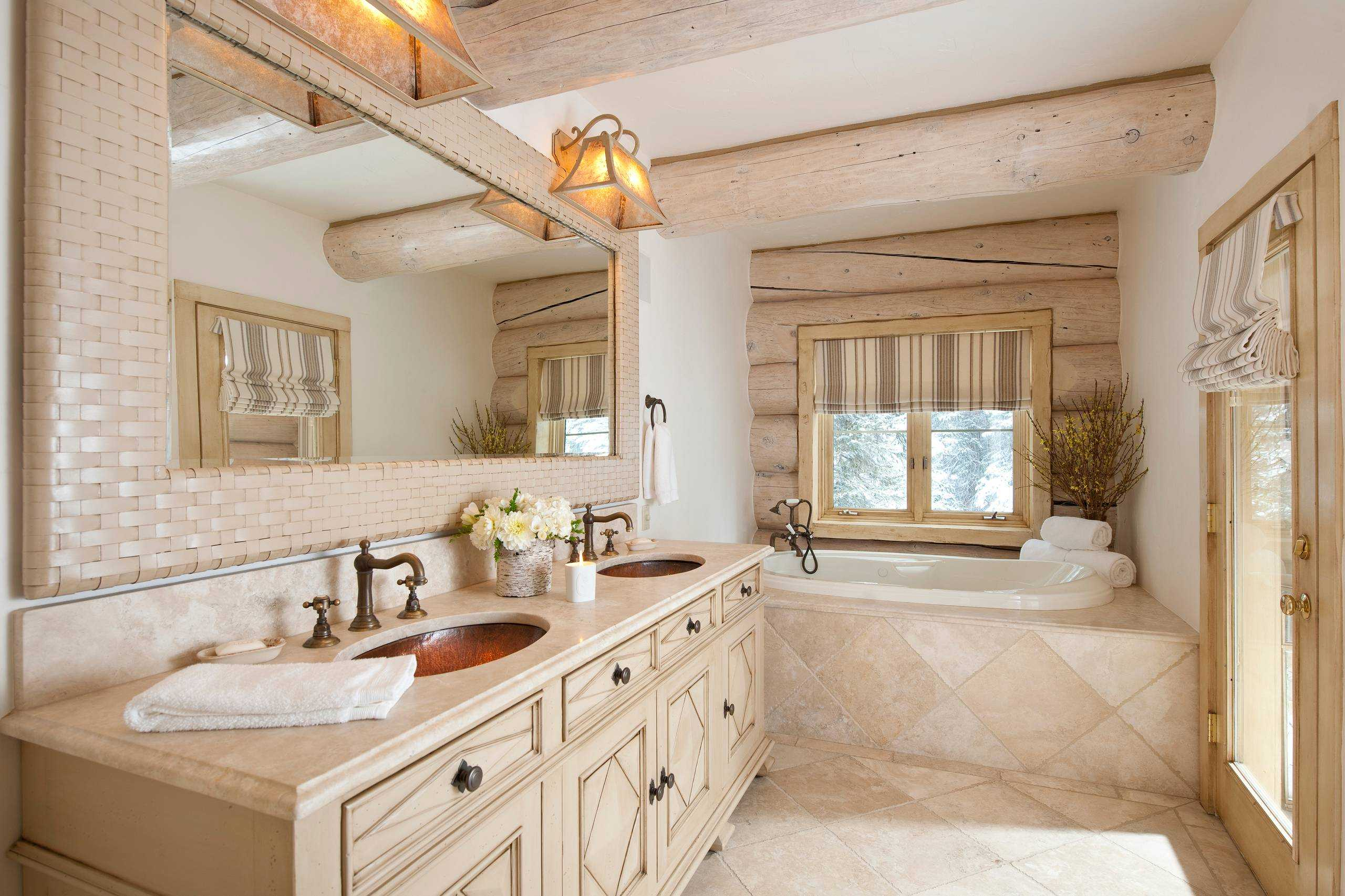 Fantastic Rustic Bathroom Designs That Will Take Your Breath Away