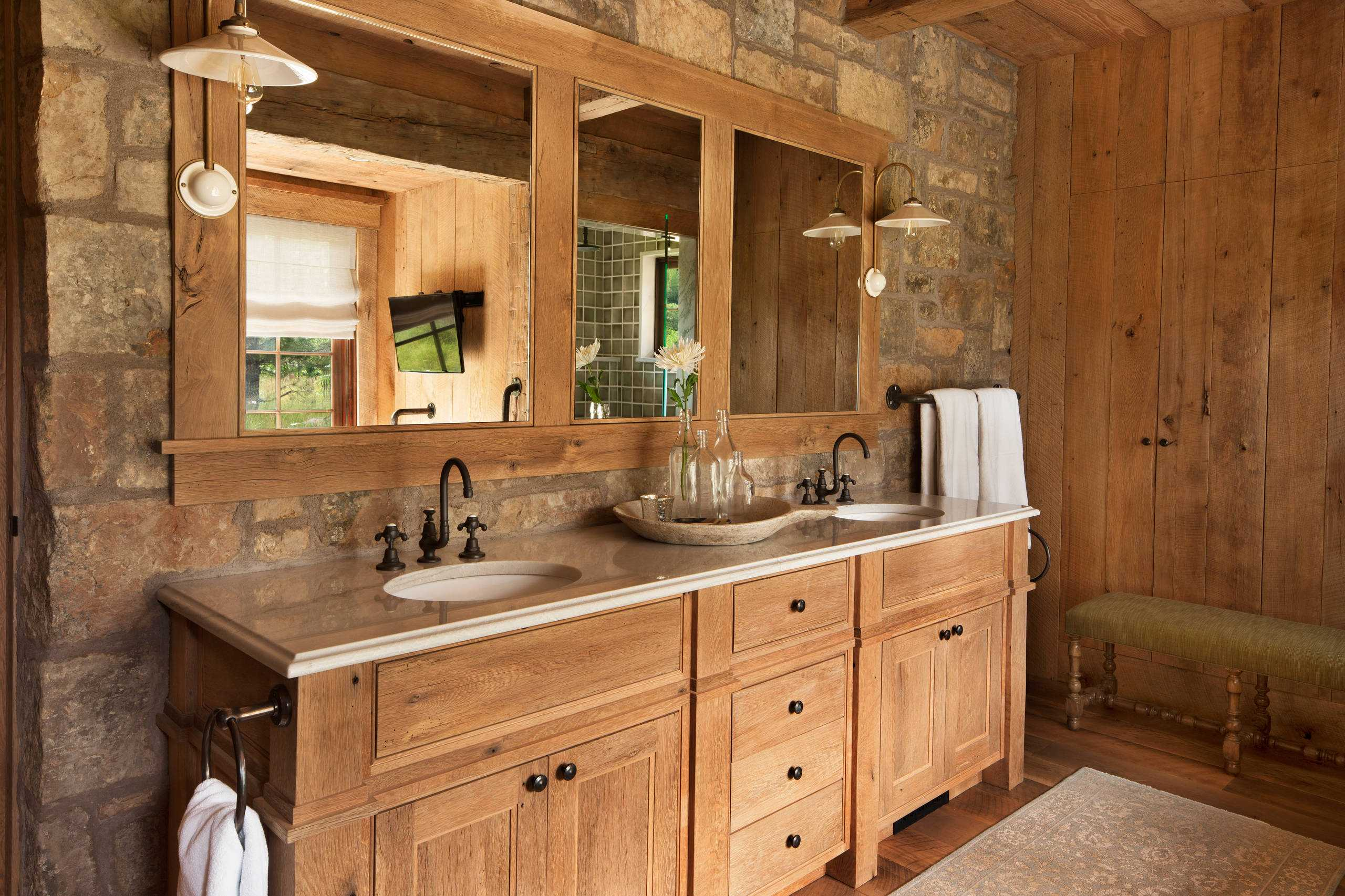bathroom styles ideas 16 fantastic rustic bathroom designs that will take your 10555