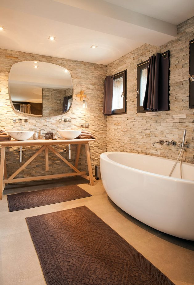16 Fantastic Rustic Bathroom Designs That Will Take Your Breath Away