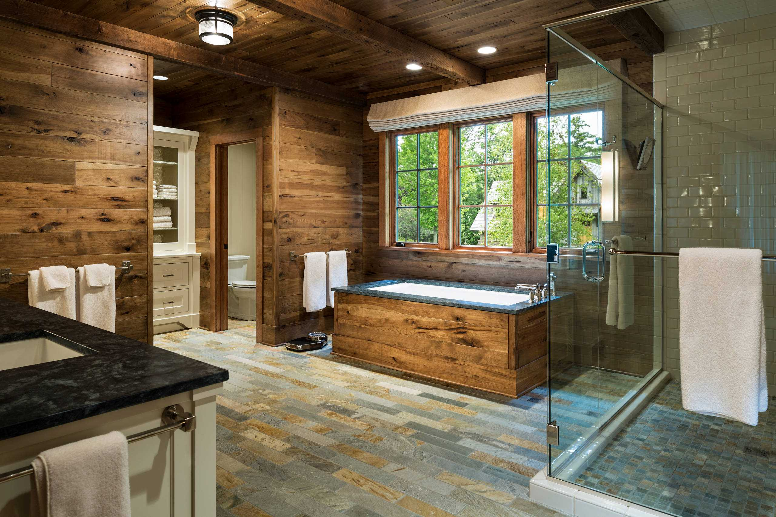 awesome Rustic Bathroom Photos Part - 4: Architecture Art Designs