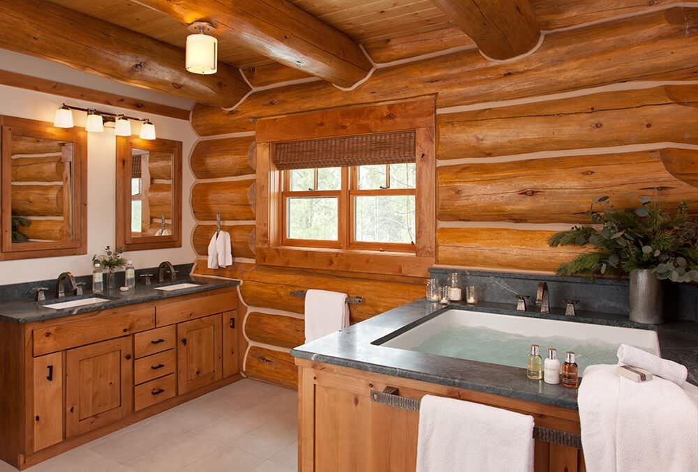 16 Fantastic Rustic Bathroom Designs That Will Take Your Breath Away