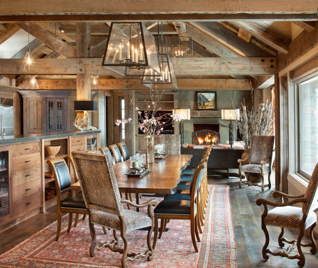 12 Rustic Dining Room Ideas: 16 Majestic Rustic Dining Room Designs You Can't Miss Out