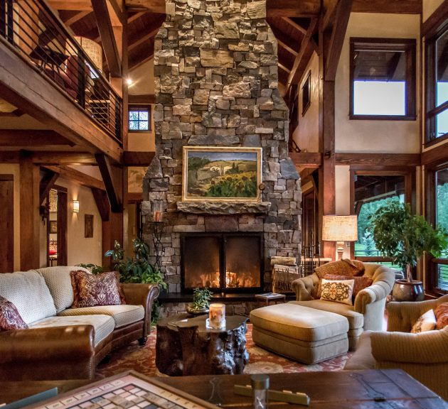 16 sophisticated rustic living room designs you won 39 t turn - Pictures of living room designs ...
