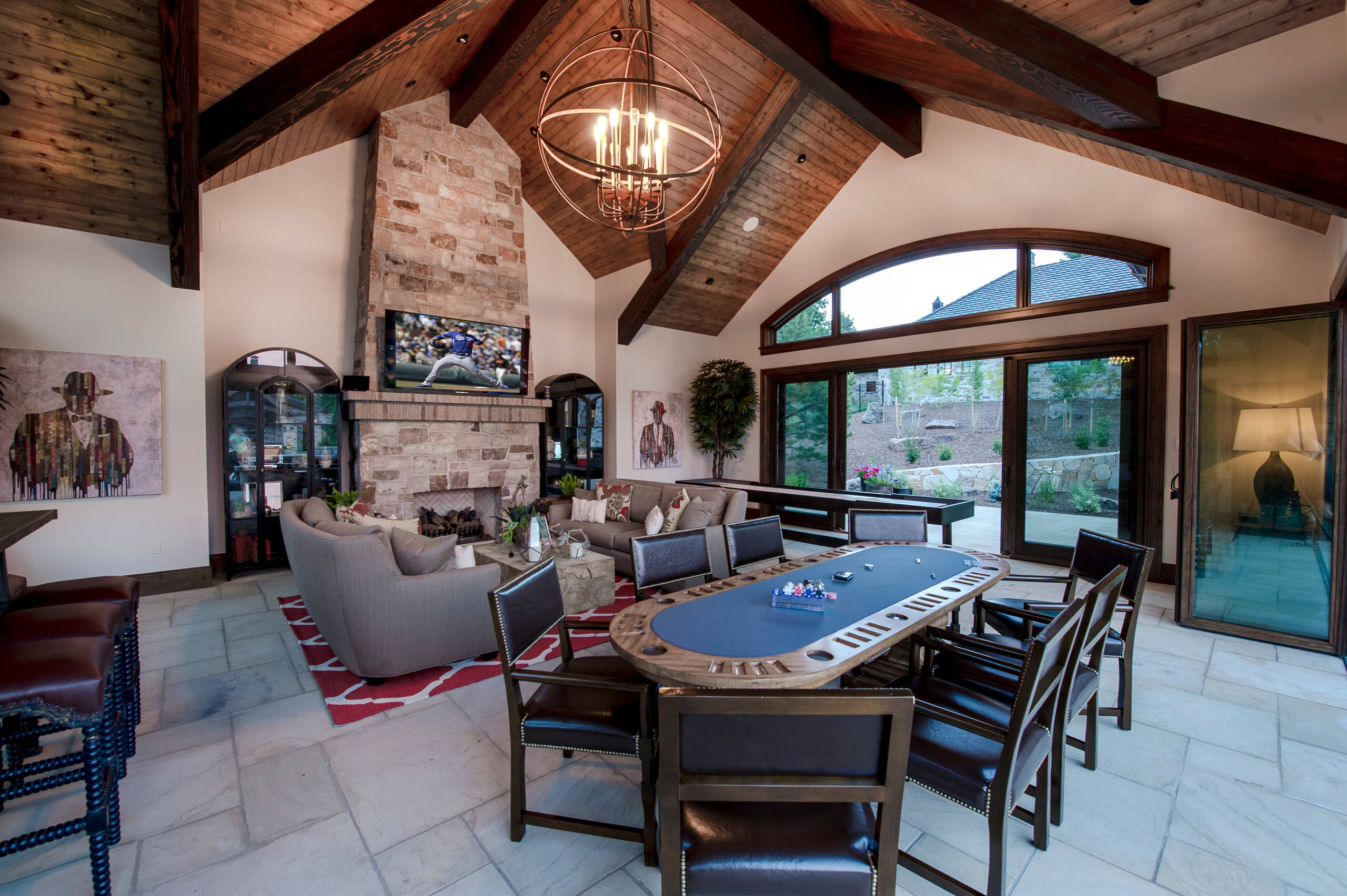 16 sophisticated rustic living room designs you won 39 t turn - Images of living room decor ...