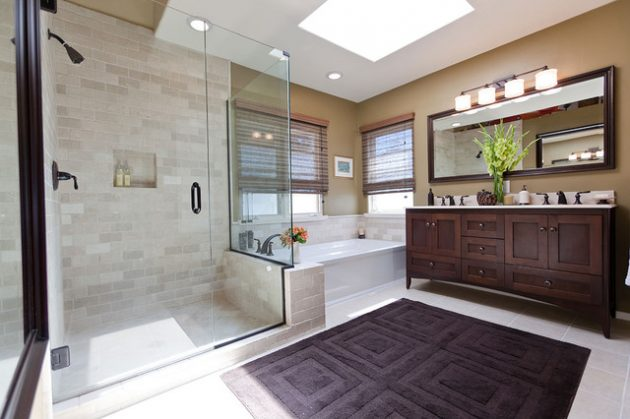 18 Inspirational Bathroom Designs That Are Simple Yet Pleasurable
