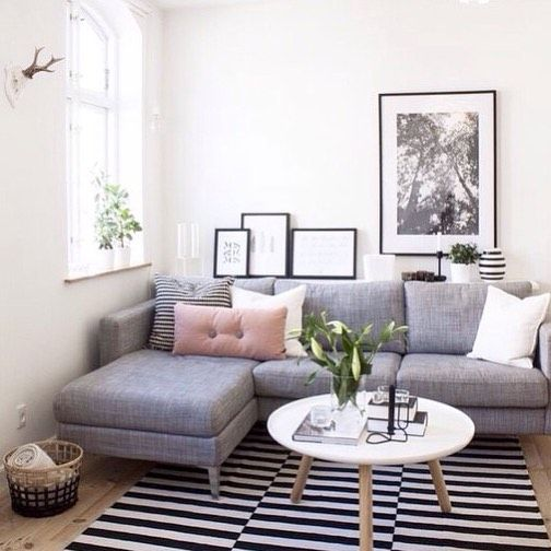 7 Apartment Decorating And Small Living Room Ideas: 23 Beautifully Decorated Small Living Rooms With Big Statement