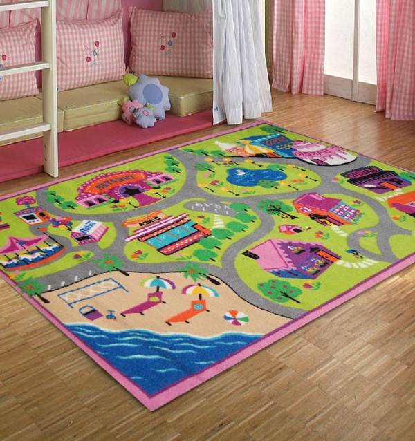Fun Game Room Ideas: 15 Compelling & Playful Carpet Designs To Surprise Your Kids
