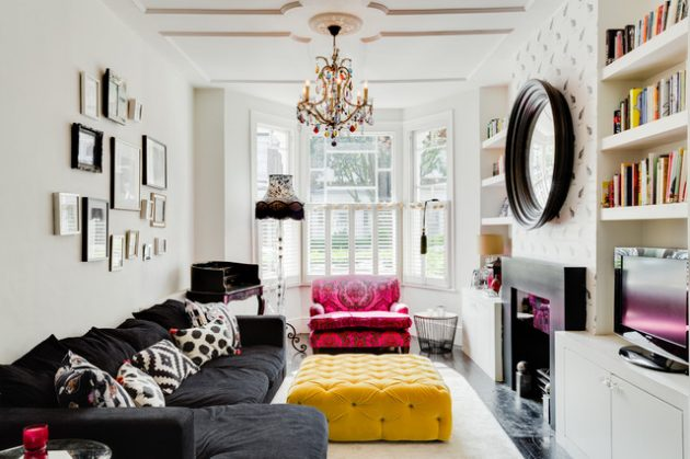 23 Beautifully Decorated Small Living Rooms With Big Statement