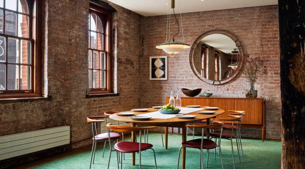 17 Timeless Dining Room Designs In Industrial Style