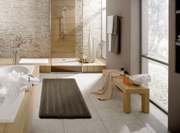 19 Beautiful Options For Choosing Bathroom Rug