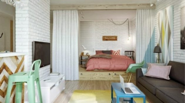 17 Marvelous Small Apartment Bedroom Designs That Will Catch Your Eye