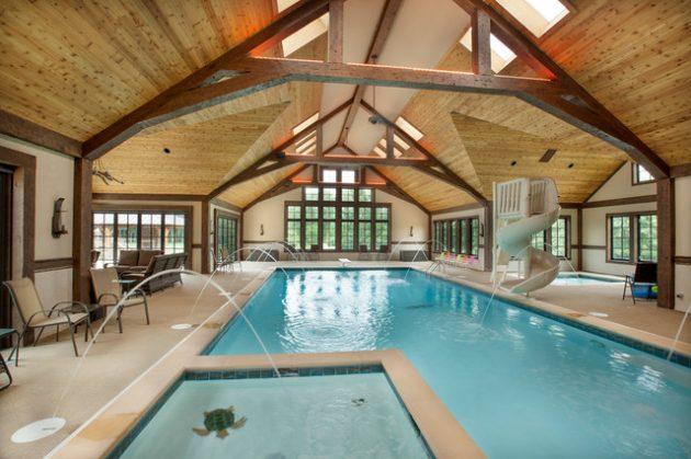 20 Marvelous Indoor Swimming Pool Designs That Everyone Should See