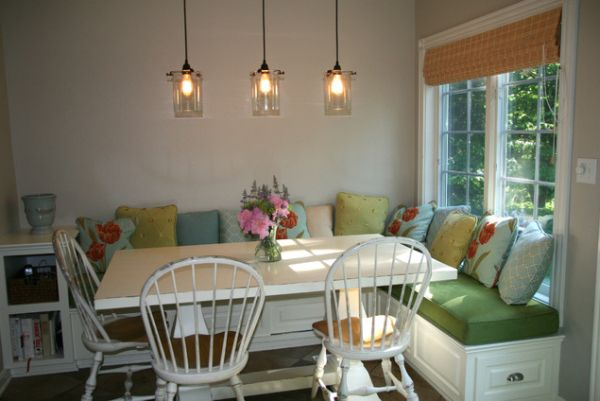 Functional Banquette  Necessary Addition To The Modern Dining Room