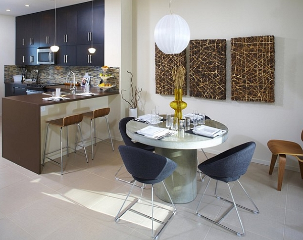 17 Adorable Dining Rooms With Small & Functional Dining Tables