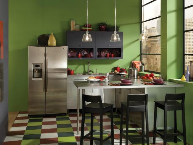 17 Adorable Kitchen Designs With Tones Of Vibrant Colors That You Must See