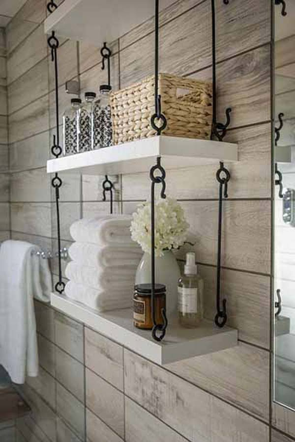 18 Simple & Easy DIY Ideas For Hanging Shelves To Adorn Your Boring Walls