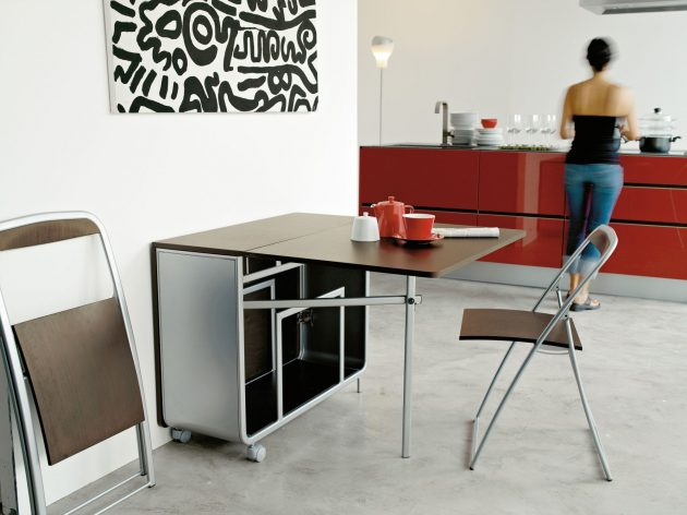 15 Ultra Functional Folding Chairs Designs For Small Dining Rooms